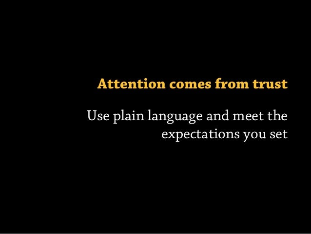 Pay attention to them first Google Keyword Tool Google AdWords Google Analytics Prioritize your people Own what's real