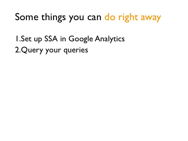 Use SSA to start workon a site report card