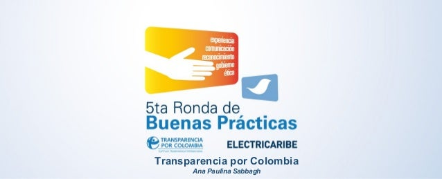 Transparencia por Colombia  Ana Paulina Sabbagh