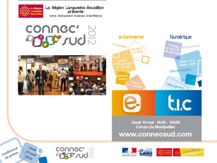Les chiffres clés du e commerce (2011)        France *                     Languedoc-Roussillon* • Nombre de sites interne...