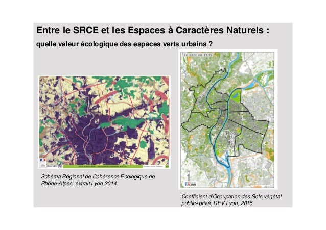 Le diagnostic de la valeur cologique des espaces verts for Les espaces verts urbains
