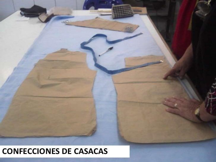 CONFECCIONES DE CASACAS