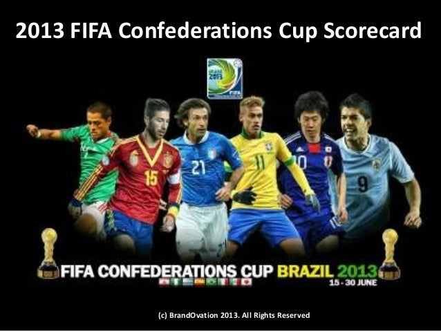2013 FIFA Confederations Cup Scorecard (c) BrandOvation 2013. All Rights Reserved