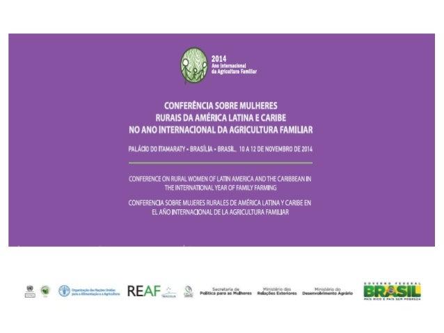 A Conferência consolida estratégia de articulação e  estímulo à cooperação internacional a partir dos seminários  e reuniõ...