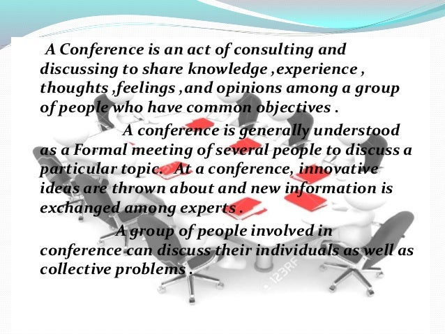 All you need to know about Conferences Slide 2