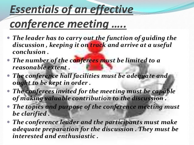 All you need to know about Conferences Slide 3