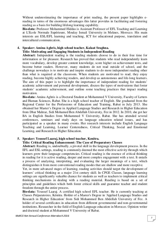Extensive reading for efl learners a library research essay