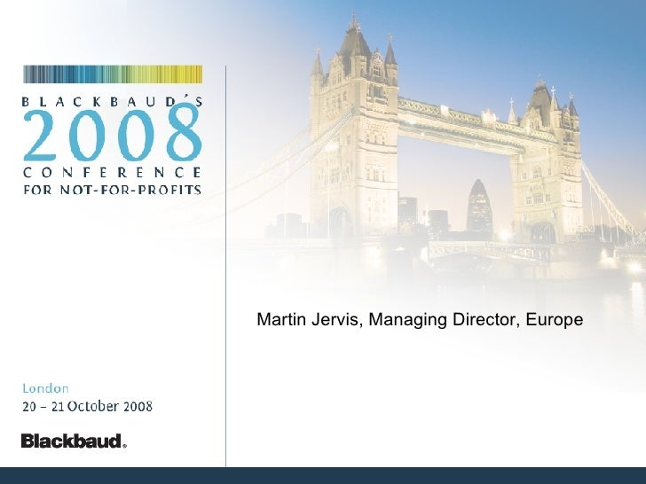 Martin Jervis, Managing Director, Europe
