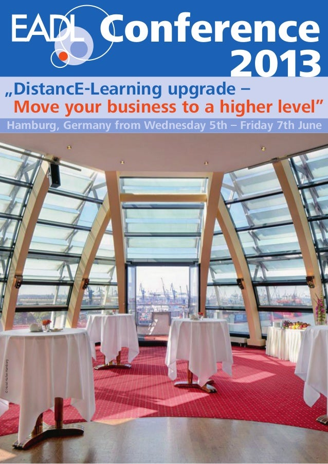 """©HotelHafenHamburg Hamburg, Germany from Wednesday 5th – Friday 7th June """"DistancE-Learning upgrade – """"Move your business ..."""