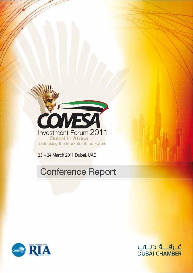 Conference Report 23 – 24 March 2011 Dubai, UAE