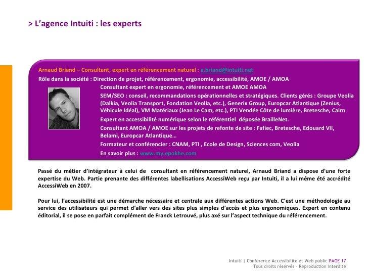 > L'agence Intuiti : les experts  Passé du métier d'intégrateur à celui de  consultant en référencement naturel, Arnaud Br...