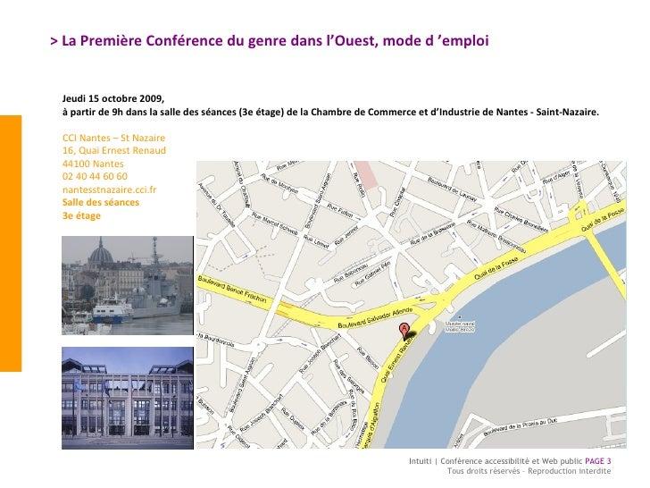 > La Première Conférence du genre dans l'Ouest, mode d'emploi  Jeudi 15 octobre 2009,  à partir de 9h dans la salle des s...