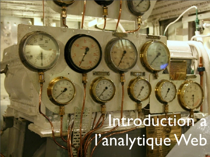 Introduction à l'analytique Web
