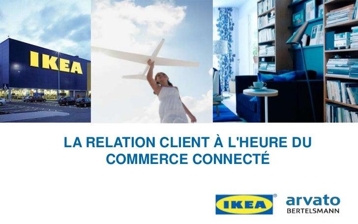 LA RELATION CLIENT À LHEURE DU                         COMMERCE CONNECTÉRue du Commerce / 7 Septembre 2011               |...