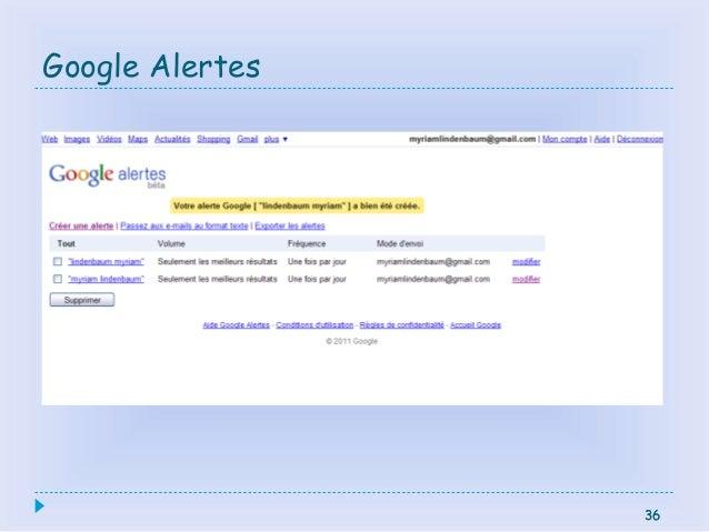 36 Google Alertes 36