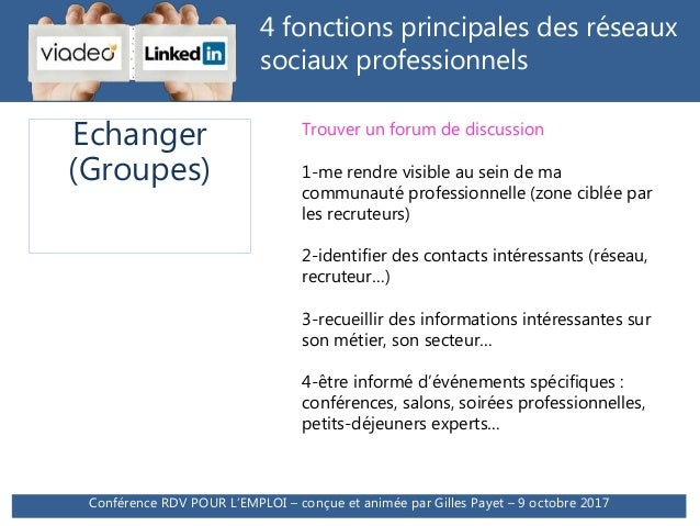 conference linkedin   comment d u00e9crocher des entretiens