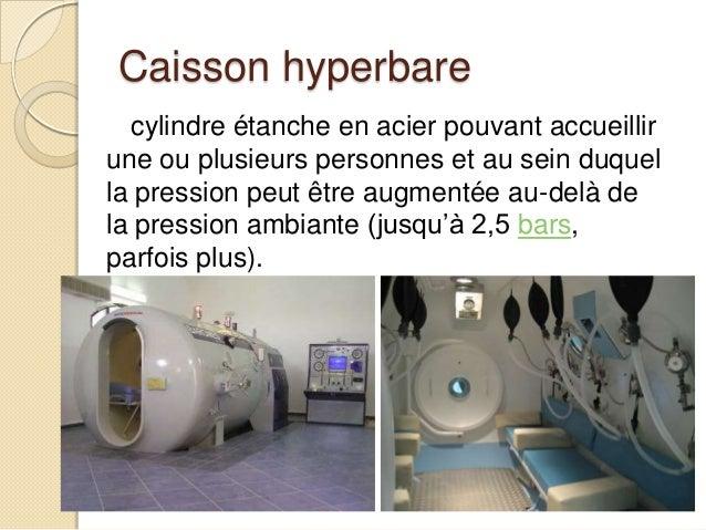 Oxygenoth rapie hyperbare au salon de la plong e sous for Chambre hyperbare