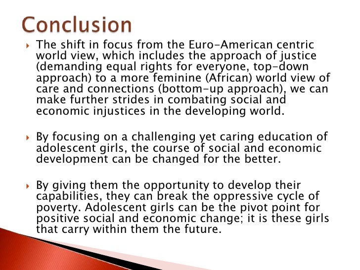 caring for adolescent girls of the world education as an effective 18