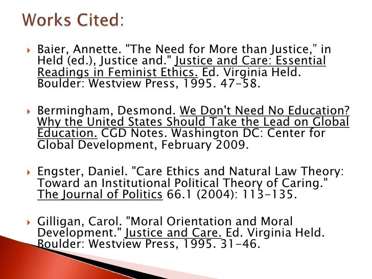 annette baier the need for more than justice pdf