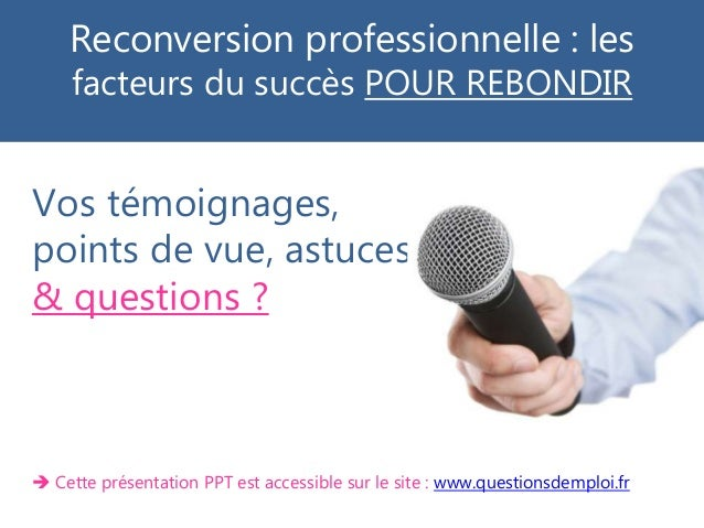 conference reconversion  6 mars 2018