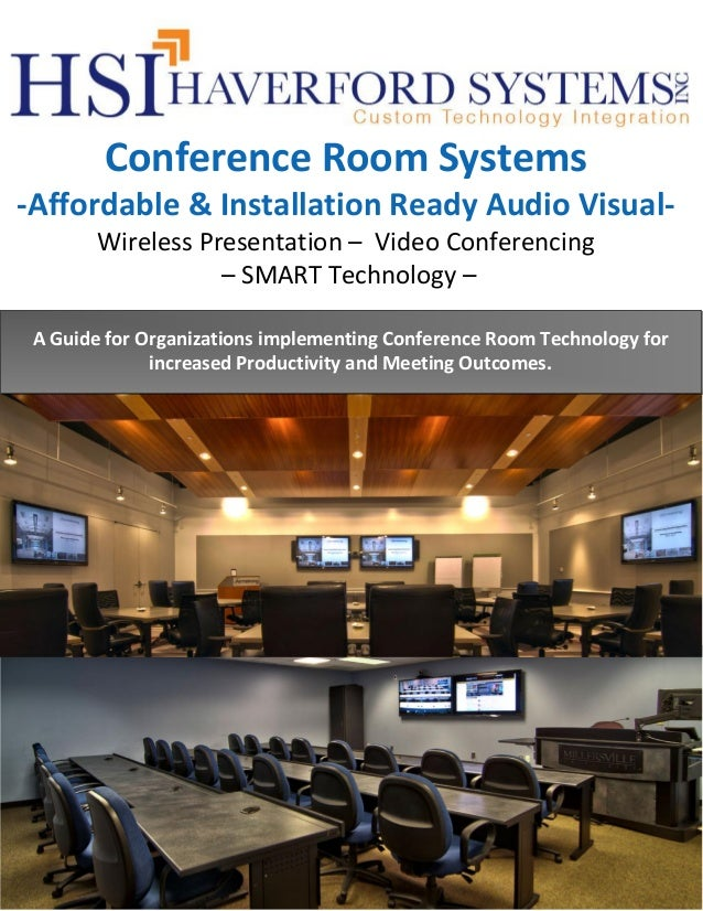 Conference room systems Product Overview