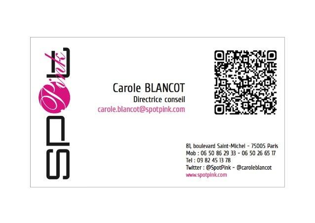 81boulevardStMichel75005Paris contact@spotpink.com M:0650862933-0650266517 www.spotpink.com Twitter...