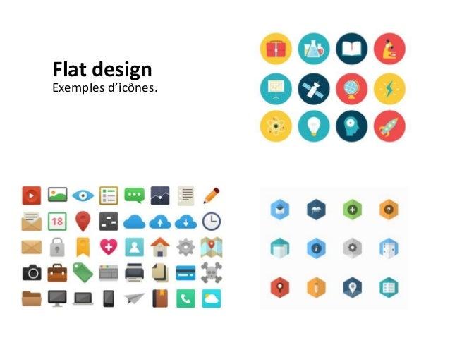 Flat design Un travail important sur les couleurs. Une réflexion sur le choix des typographies. http://conference.awwwards...