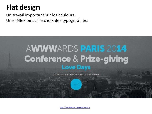 Typoweb Une grande liberté dans le choix* des typographies. Elles sont souvent intégrées dans des images ou des fonds. *ht...