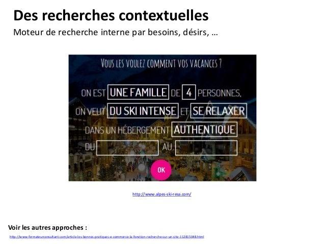 Les menus riches Accompagner et guider l'internaute. Voir les autres approches : http://www.formateurconsultant.com/articl...