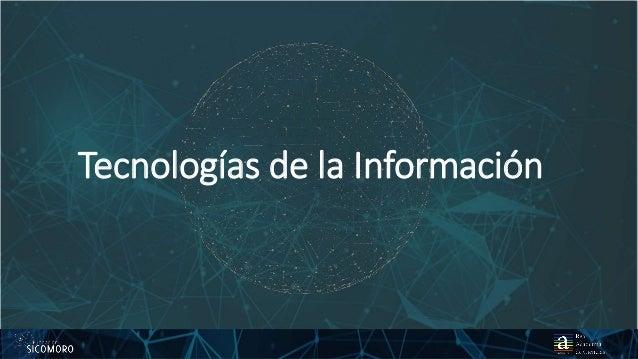 825 01 2017 Tecnologías de la Información