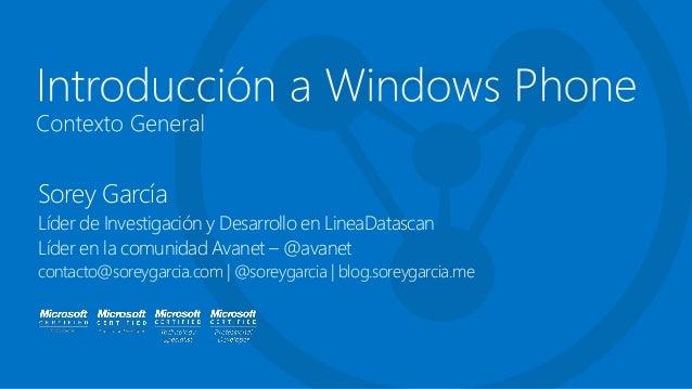 Sorey GarcíaLíder de Investigación y Desarrollo en LineaDatascanLíder en la comunidad Avanet – @avanetcontacto@soreygarcia...