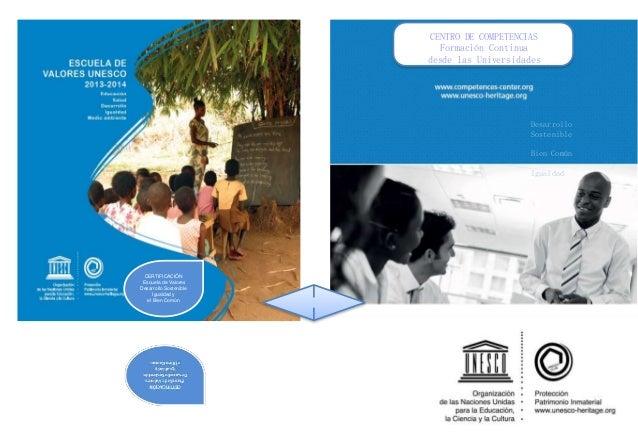 CENTRO DE COMPETENCIAS Formación Continua desde las Universidades  Desarrollo Sostenible Bien Común Igualdad  CERTIFICACIÓ...
