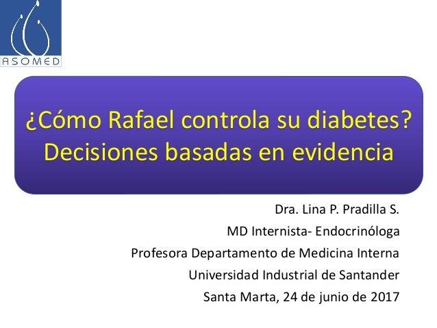 Dra. Lina P. Pradilla S. MD Internista- Endocrinóloga Profesora Departamento de Medicina Interna Universidad Industrial de...