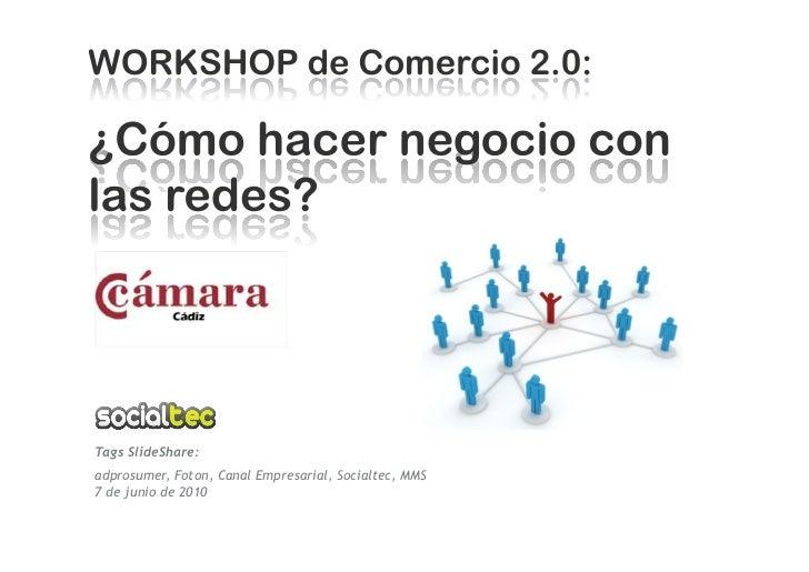 Tags SlideShare: adprosumer, Foton, Canal Empresarial, Socialtec, MMS 7 de junio de 2010