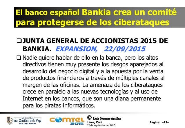 Ciberseguridad retos oportunidades y riesgos de las for Bankia oficina de internet