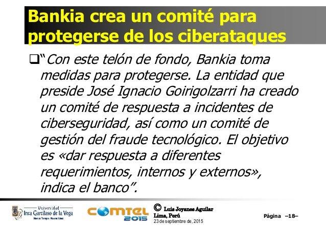 Ciberseguridad retos oportunidades y riesgos de las for Bankia oficina internet login