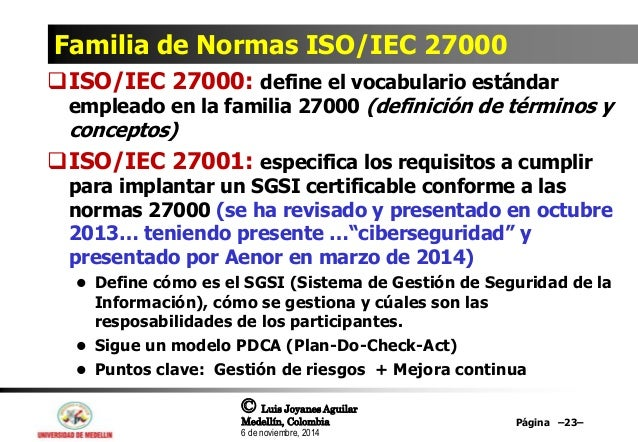 Norma iso 20001