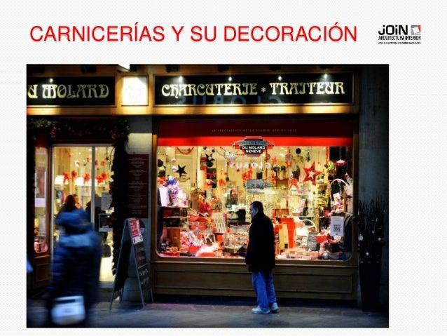 Consejos decoraci n de navidad en tiendas - Decoracion carnicerias ...