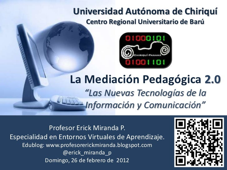 Universidad Autónoma de Chiriquí                          Centro Regional Universitario de Barú                    La Medi...