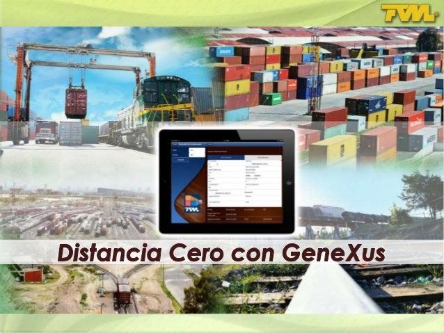 Distancia Cero con GeneXus Metodología y Distancia Cero Paradigmas, Clásica y Cuántica GeneXus y Aplicaciones en Tiempo Re...