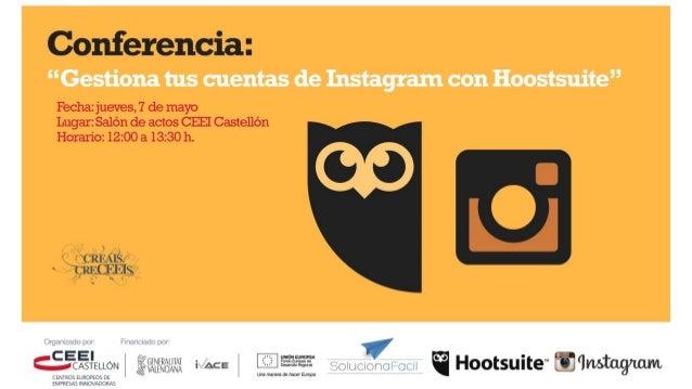 Mayo 2015 Hootsuite Social Media Dashboard Embajador y Solution Partner Hootsuite @davidmcalduch David Martinez Calduch