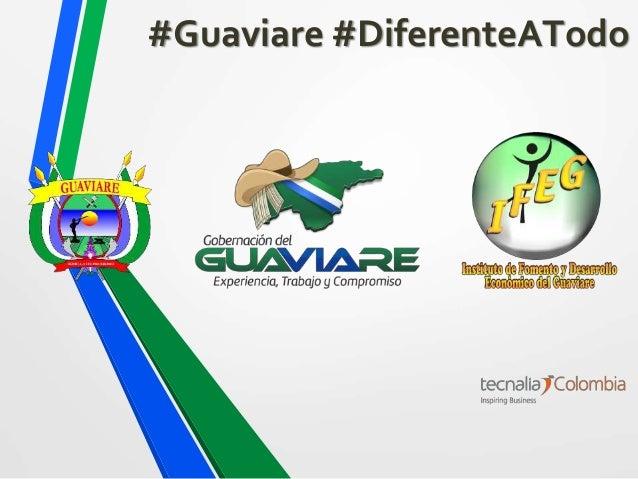 #Guaviare #DiferenteATodo