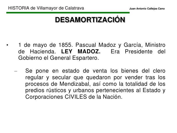 HISTORIA de Villamayor de CalatravaJuan Antonio Callejas Cano<br />