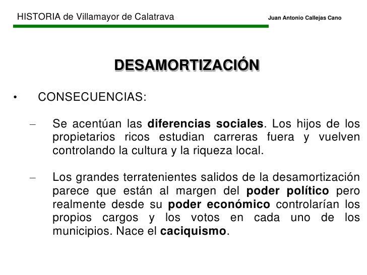 HISTORIA de Villamayor de CalatravaJuan Antonio Callejas Cano<br />EDAD CONTEMPORÁNEA<br />Comienza en 1808 (inicio Gu...