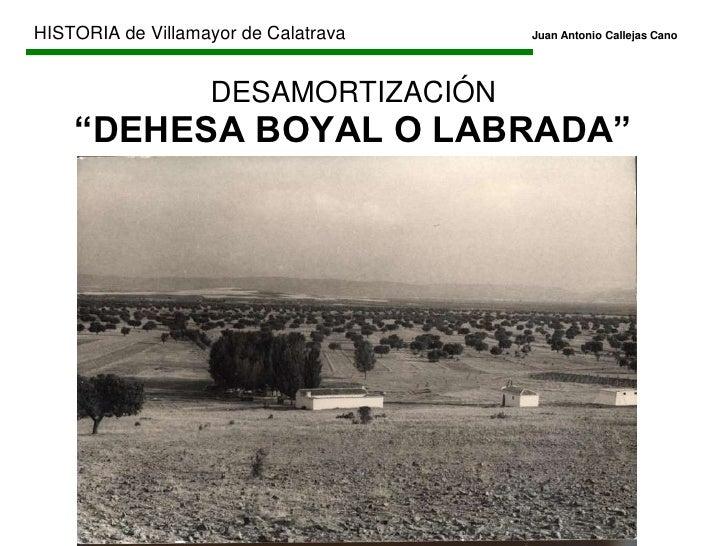 HISTORIA de Villamayor de CalatravaJuan Antonio Callejas Cano<br />EDAD CONTEMPORÁNEA<br />