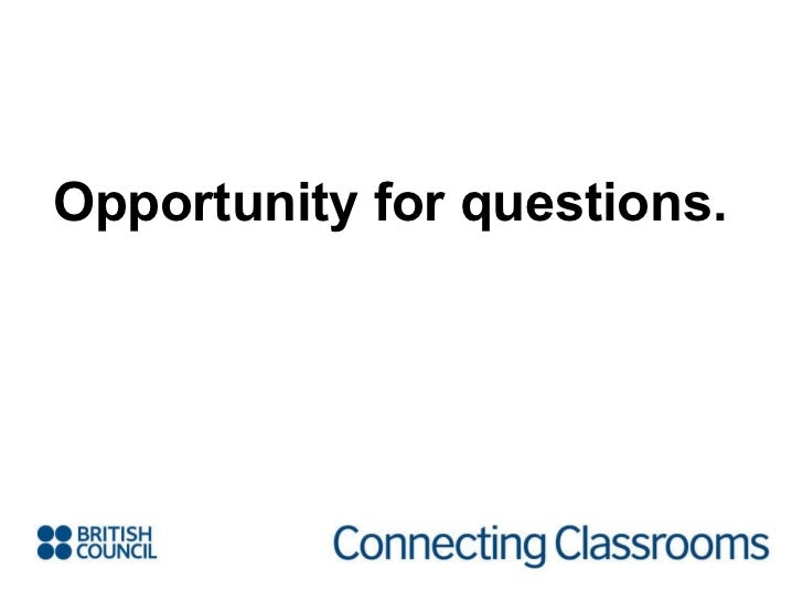 Opportunity for questions.