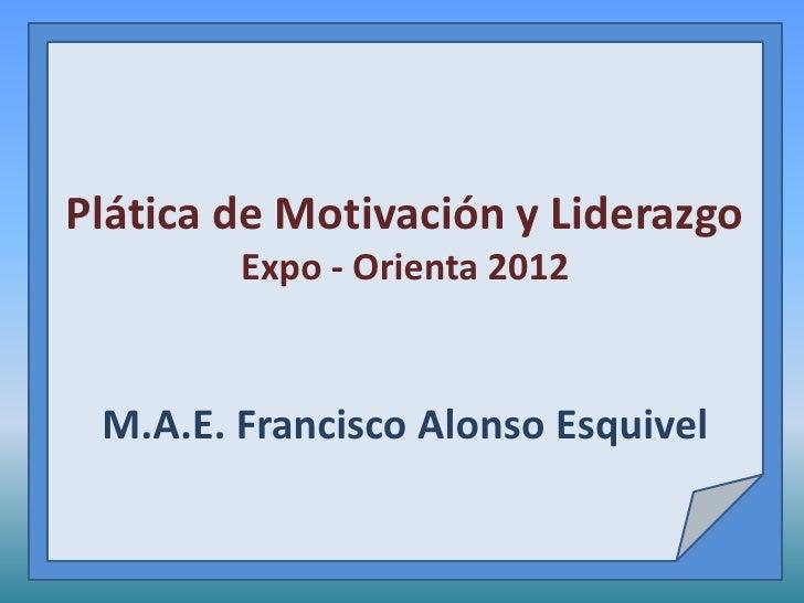 Conferencia Motivacional Para Adolescentes