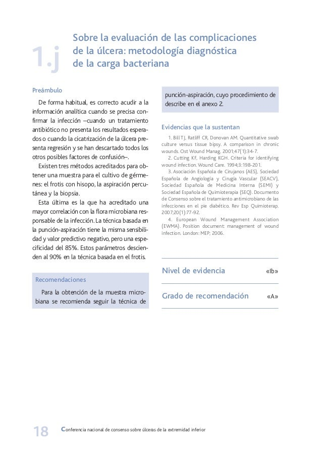 Conferencia nacional de consenso sobre ulceras de la
