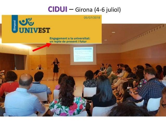 CIDUI – Girona (4-6 juliol)