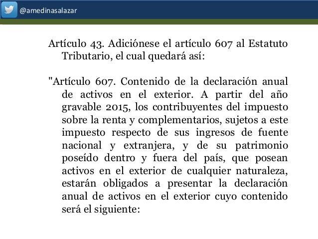 Actualizaci N Tributaria Ley 1739 De 2014